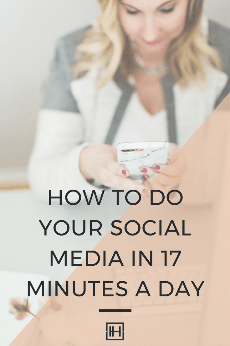 Social Media in 17 Minutes a Day