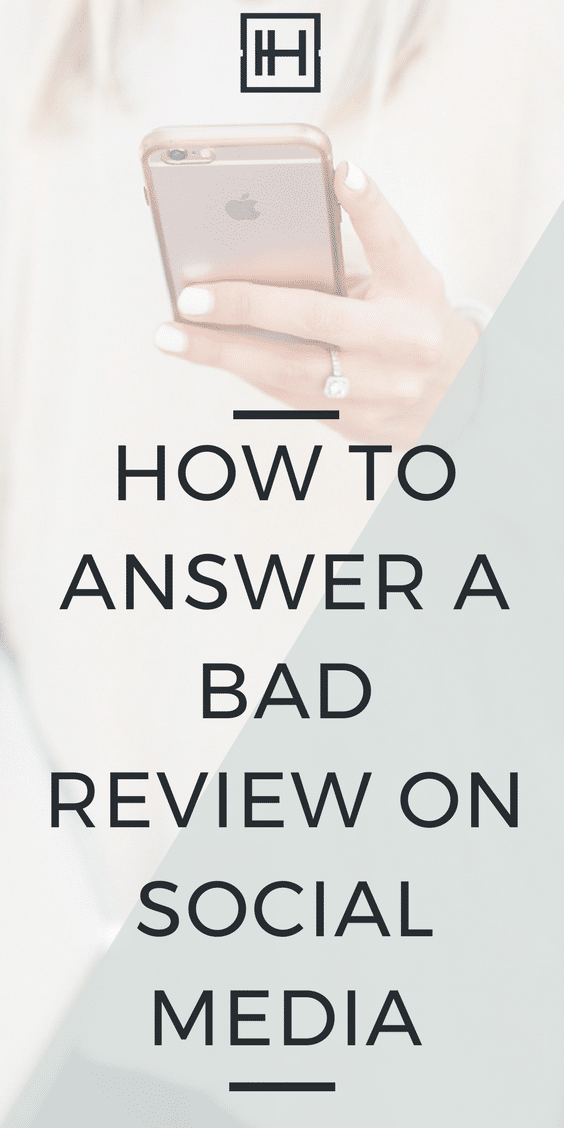 How to Answer a Bad Review on Social Media
